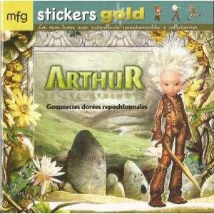 Stickers Gold Arthur et les minimoys