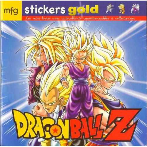 Stickers Gold Dragon Ball Z