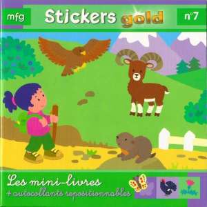 Stickers Gold N° 7