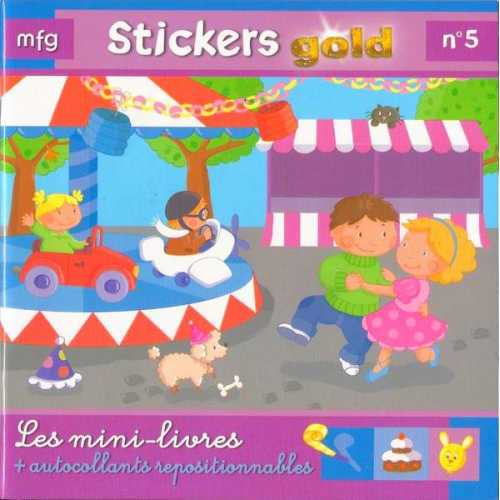 Stickers Gold N° 5