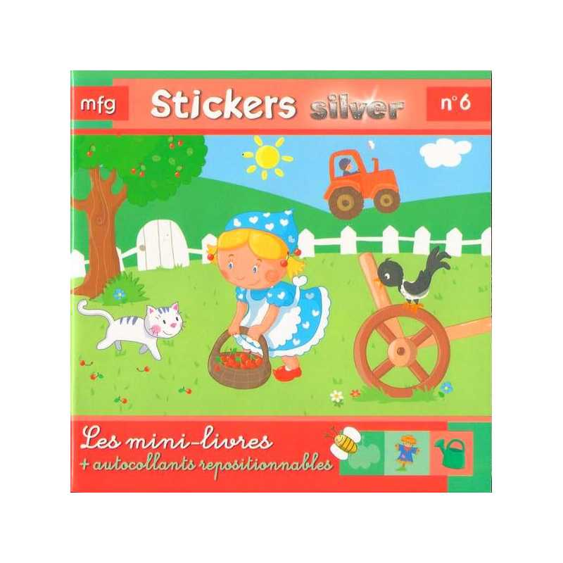 Stickers Silver N° 6