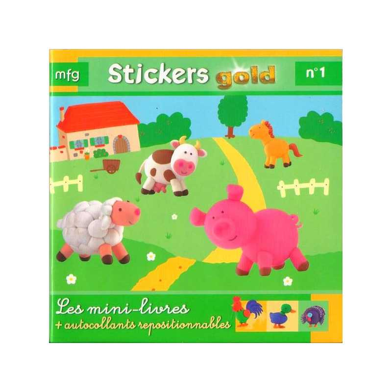 Stickers Gold N° 1