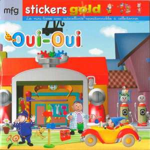 Stickers Gold Oui-Oui