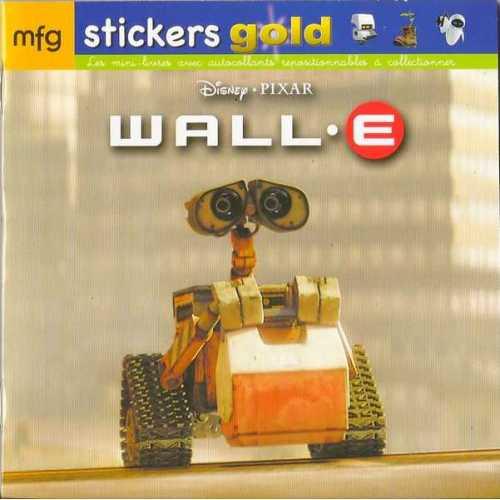 Stickers Gold Wall-E