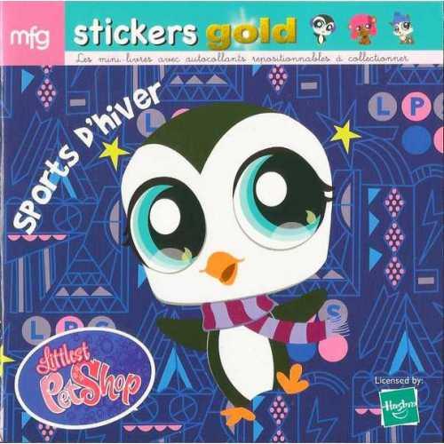 Stickers Gold Littlest PetShop Sports d'hiver