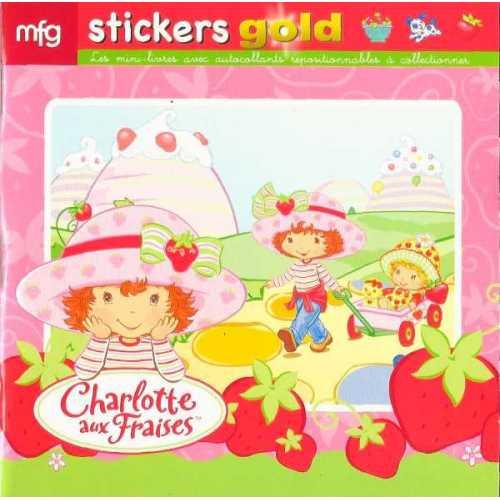 Stickers Gold Charlotte aux Fraises