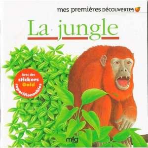 Stickers Gold La jungle