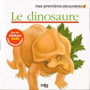 Stickers Gold Le dinosaure