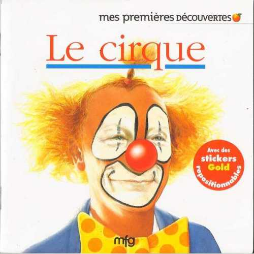 Stickers Gold Le cirque