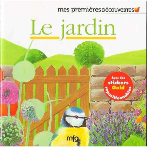 Stickers Gold Le jardin