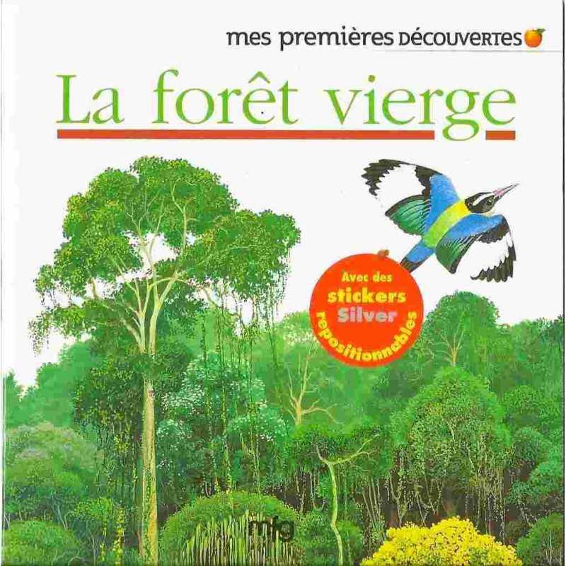 Stickers Gold La forêt vierge