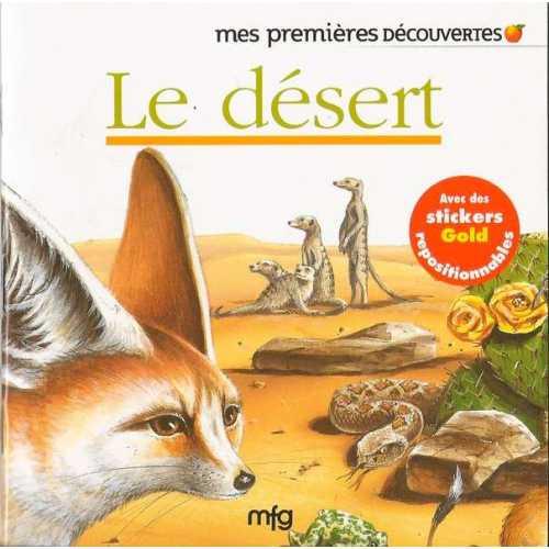 Stickers Gold Le désert