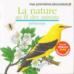 Stickers Gold La nature au fil des saisons - printemps
