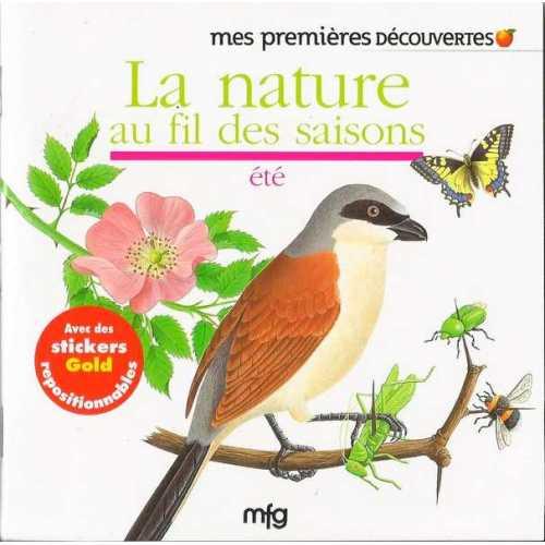 Stickers Gold La nature au fil des saisons - été