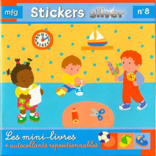 Stickers Silver N° 8