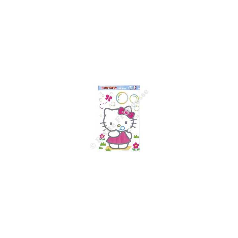 Stickers Hello Kitty Bulles Géant