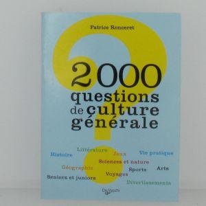 2000 questions de culture générale