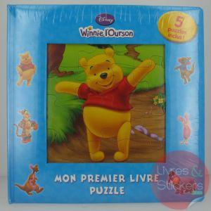 Winnie l'ourson - Mon premier livre puzzle