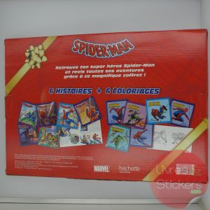 Spiderman - coffret 12 livres : 6 histoires et 6 coloriages