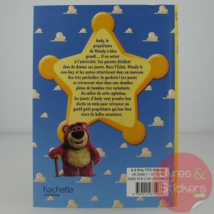 livre enfant Toy Story 3