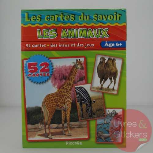 Cartes du savoir - Les animaux