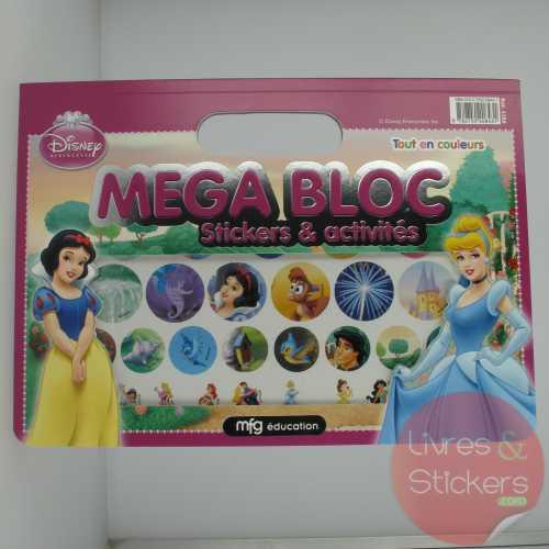 Mega Bloc Princesses - Stickers et activités