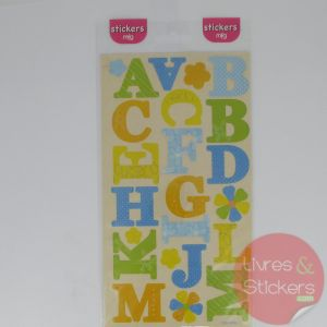 Stickers alphabet majuscule 2