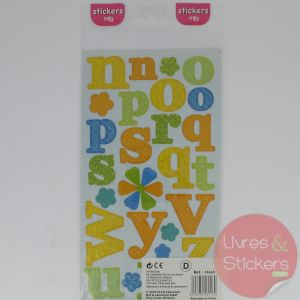 Stickers alphabet minuscule 2