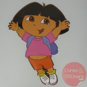 Stickers enfant mural DORA