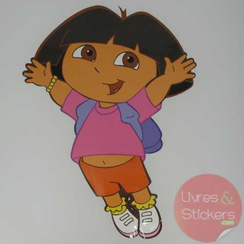 Stickers enfant mural DORA