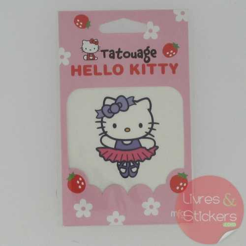 Tatouage Hello Kitty danseuse