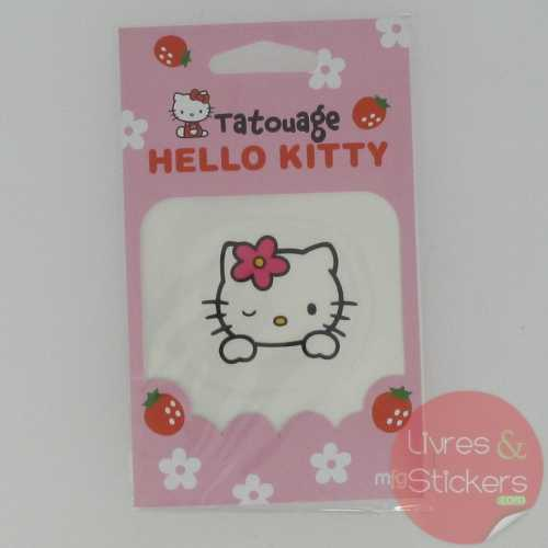 Tatouage tête Hello Kitty