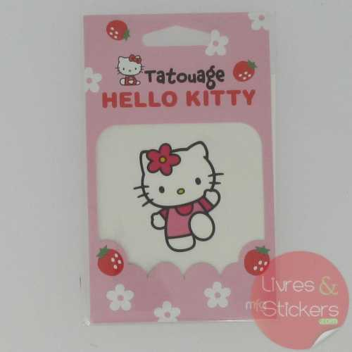 Tatouage Hello Kitty cour