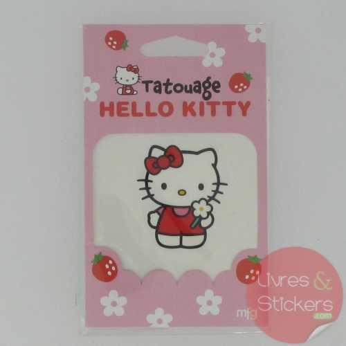 Tatouage Hello Kitty ! noeud