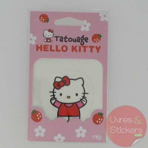 Tatouage Hello Kitty
