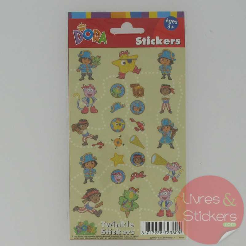 Dora twinkle stickers 1