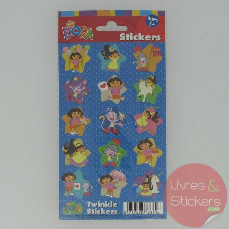 Dora twinkle stickers 2