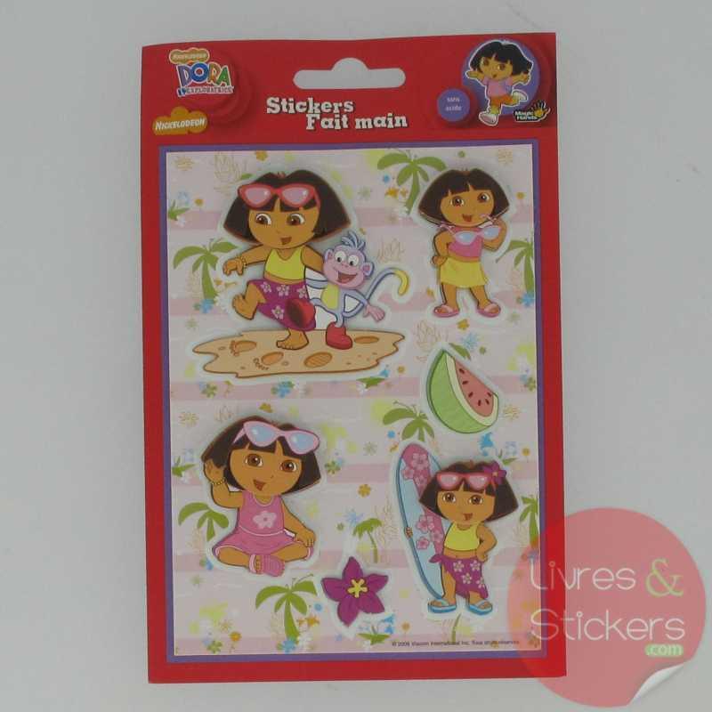 Dora stickers fait main 1/3