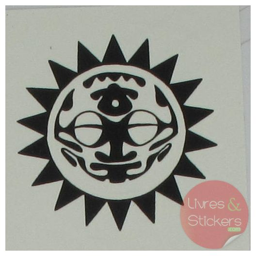 Tatouage tribal soleil - Tatouage soleil tribal ...