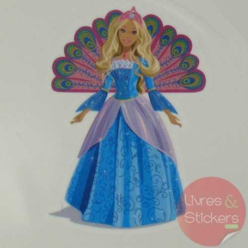 Tatouage Barbie Princesse de l'ile Merveilleuse 1/4