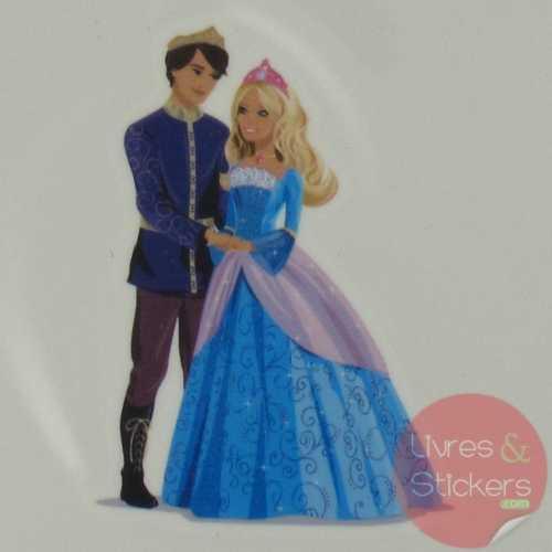 Tatouage Barbie Princesse de l'ile Merveilleuse 3/4