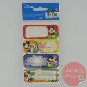 Etiquettes Disney Mickey 3/3