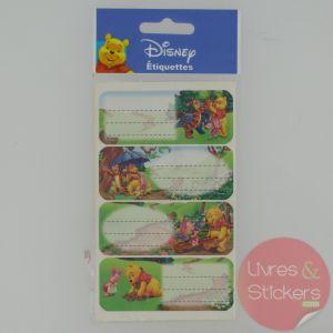 Etiquettes Disney Winnie l'Ourson 2/3