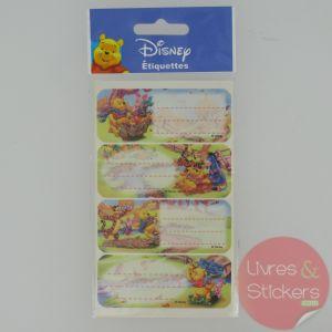 Etiquettes Disney Winnie l'Ourson 1/3
