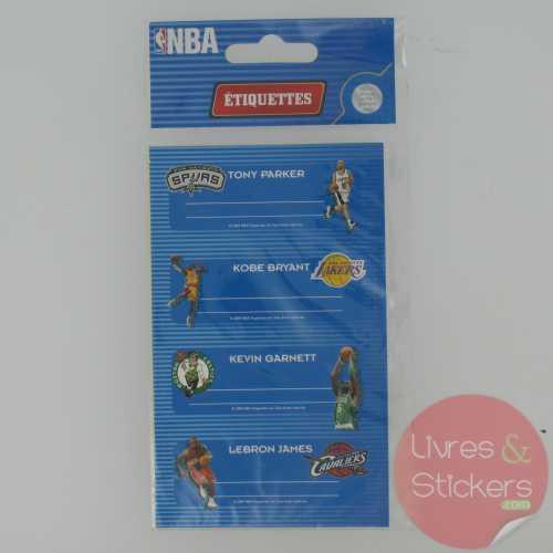 Etiquettes NBA