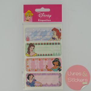 Etiquettes Disney Princesse 1/5