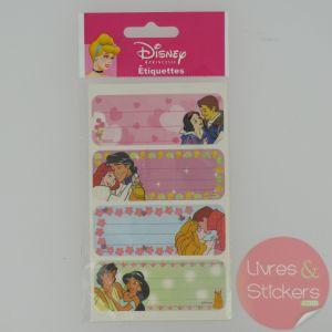 Etiquettes Disney Princesse 2/5