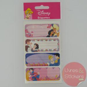 Etiquettes Disney Princesse 3/5