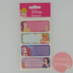 Etiquettes Disney Princesse 4/5