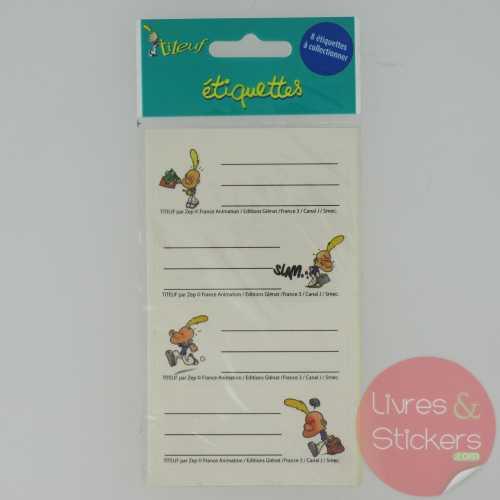Etiquettes Titeuf